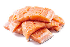 Salmon filletes Stock Photography