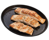Salmon Fillets Stock Image