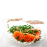 Salmon Fillets Royalty Free Stock Photo