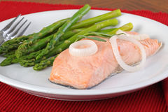 Salmon Fish Fillet Stock Images