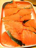 Salmon fish fresh.fresh raw salmon. Fresh raw salmon Stock Images