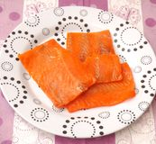 Salmon fish Royalty Free Stock Photography