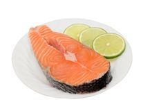 Salmon fish Stock Photography