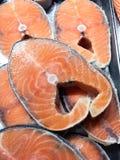 Salmon Fish Steak Royalty-vrije Stock Afbeelding
