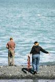 Salmon fishing Stock Photography