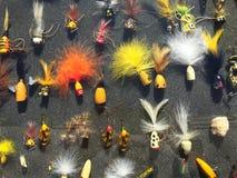 Salmon Fly Fishing Lures imagem de stock
