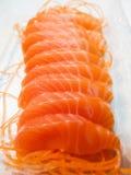 Salmon. Fresh salmon fillet Colorful appetizing Royalty Free Stock Image