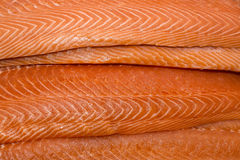 Salmon. Fresh salmon fillet meat Taste Texture Stock Photo