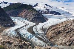 Salmon Glacier Stock Fotografie