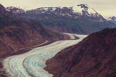 Salmon Glacier royaltyfri bild