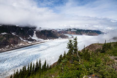 Salmon Glacier Stock Images