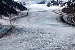 Salmon Glacier Stock Photo
