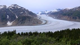 Salmon Glacier near Hyder Royalty Free Stock Photo