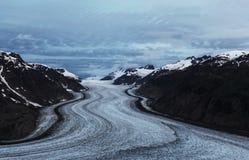 Salmon glacier Stock Photography
