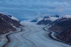 Salmon glacier Stock Image