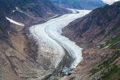 Salmon glacier. In Stewart, Canada Royalty Free Stock Photography