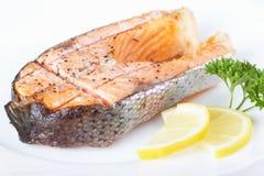 Salmon grill Stock Image