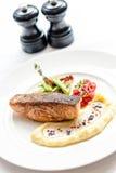 Salmon grilled Stock Photo