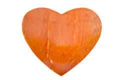 Salmon heart Stock Images