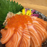 Salmon ikura don. Stock Photos