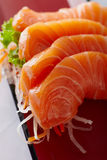 Salmon in japan style b Royalty Free Stock Photo