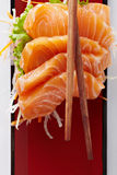 Salmon in japan style a Stock Image