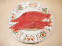 Salmon, japanese food Royalty Free Stock Image