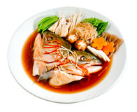 Salmon Japanese food Royalty Free Stock Photo