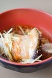 Salmon Kabutoni Royalty Free Stock Photo