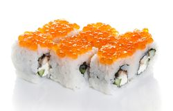 Salmon maki Royalty Free Stock Photos
