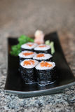 Salmon Maki sushi Royalty Free Stock Photos