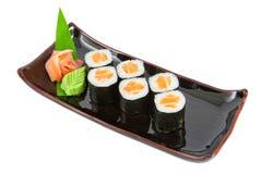 Salmon maki Stock Photography