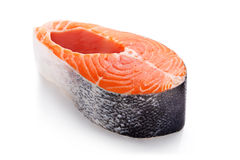 Salmon meat Stock Photography