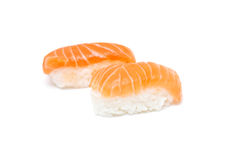 Salmon nigiri Royalty Free Stock Images