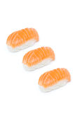 Salmon nigiri Stock Images