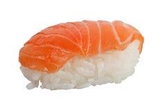 Salmon Nigiri. Japanese food - Salmon nigiri isolated on white background Royalty Free Stock Photography