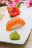 Salmon nigiri Royalty Free Stock Image