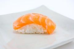 Salmon nigiri sushi Stock Photography