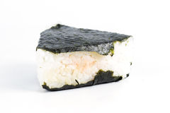 Salmon Onigiri Stock Photography