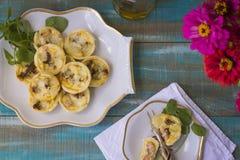 Salmon pastry Stock Photos