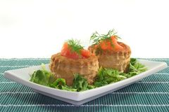 Salmon pate Royalty Free Stock Image