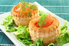 Salmon pate Stock Photography