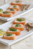 Salmon pate Royalty Free Stock Photo