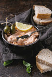 Salmon Pate With Red Caviar Royalty Free Stock Photo