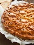 Salmon pie Stock Image