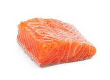 Salmon piece Stock Image