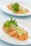Salmon Poke Images stock