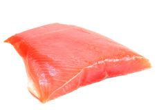 Salmon raw fillet Stock Photography