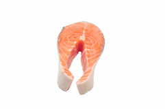 Salmon raw Stock Image