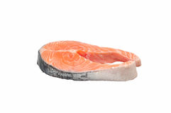 Salmon raw Stock Photography